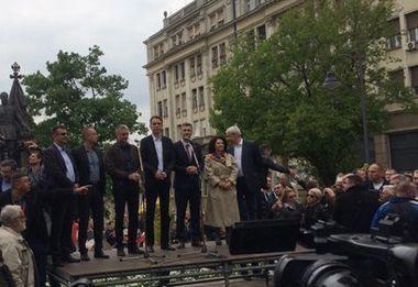 Opozicija demonstrirala postizborno jedinstvo, SNS uzvratio žestokim uvredama 1