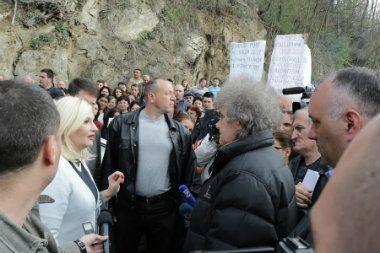 Zorana Mihajlović zaustavljena na ulazu u Bosilegrad 14