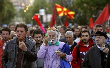 Protesti jedan odsto Makedonaca - predstava za strance 12