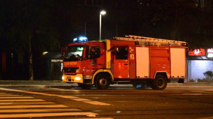 Ugašen požar na Novom Beogradu, nema povređenih 1