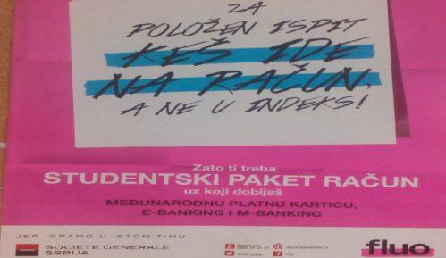 Kako se banke oglašavaju u školi u Zrenjaninu 13