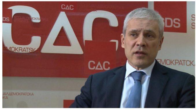Tadić i Đurišić predstavljaju SDS u dijalogu vlasti i opozicije uz posredovanje EP 1