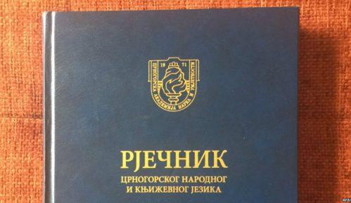 Ne povlači se sporni Rečnik Crnogorske akademije 7