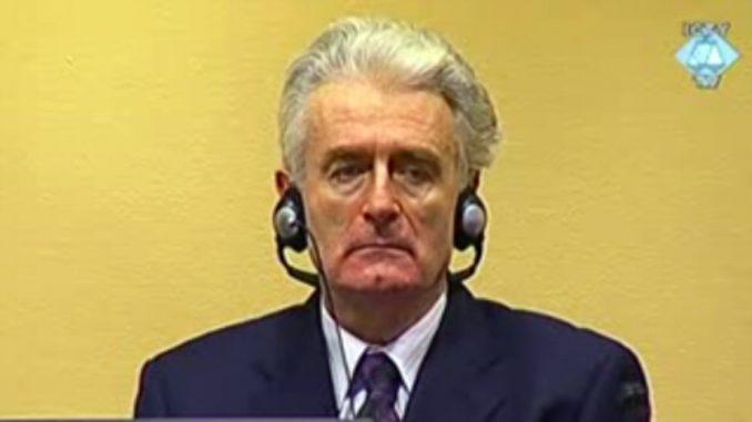 Tužilac traži doživotnu kaznu za Karadžića 1