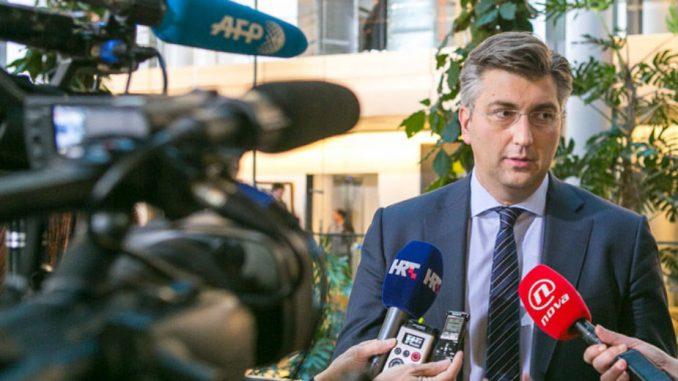 Plenković: Sledi analiza o propalom poslu 1