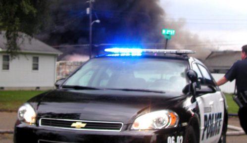 Sukob policije i taksista 12