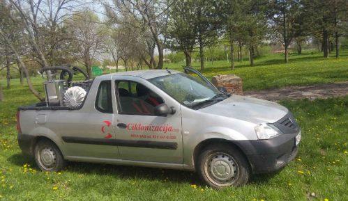 Zaprašivanje komaraca u Beogradu u toku 5