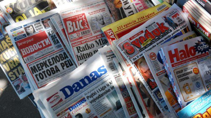 Vreme: Prekršajna prijava je licemerni pokušaj Ministarstva da se Vreme izjednači s tabloidima 1