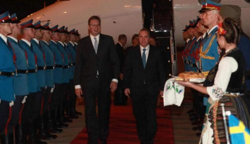 Švedski premijer stigao u Beograd 10