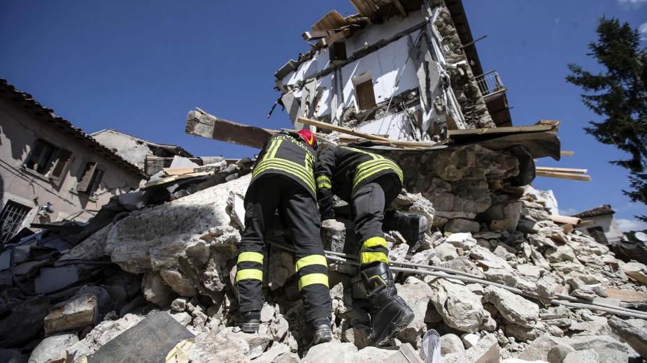 Novi zemljotres u Italiji 1