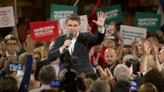 Milanović: Želim biti predsednik moderne i otvorene Hrvatske, bez bodljikave žice 4