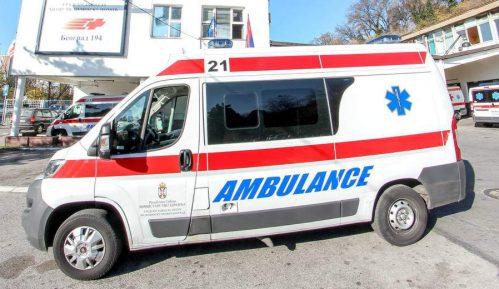 Hitna pomoć: Povređen radnik na Vilinim vodama 1