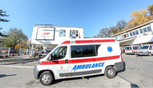 U saobraćajnoj nesreći na Ibarskoj magistrali teško povređena jedna osoba 1