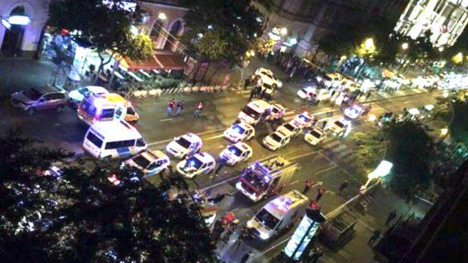 Eksplozija gasa u centru Budimpešte 1