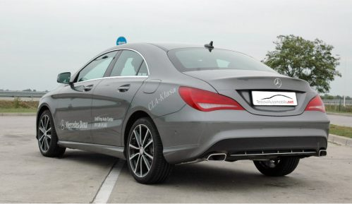 Testirali smo: Mercedes CLA 200 CDI 11