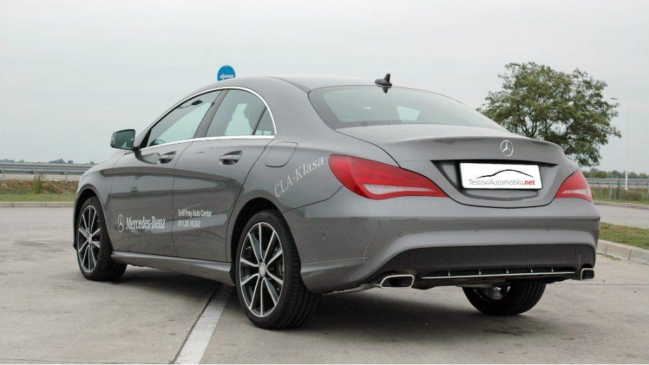 Testirali smo: Mercedes CLA 200 CDI 1