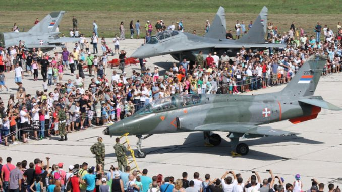 Vojni aerodrom Batajnica u subotu otvoren za posetioce 1