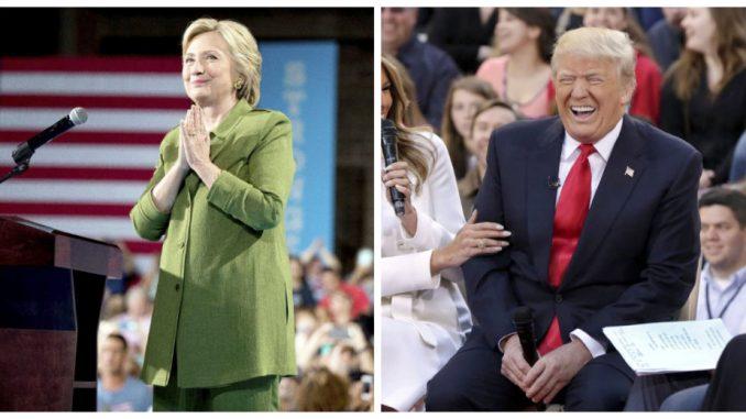 Tramp i Klinton gotovo izjednačeni 1