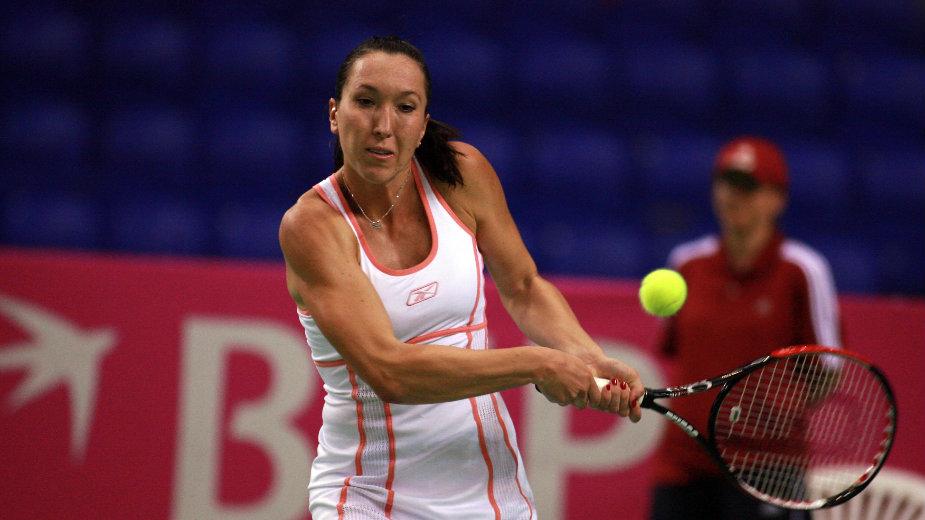 Jelena Janković poražena od Karoline Voznjecki 1