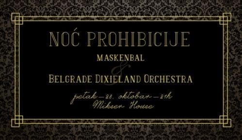 Bal pod maskama i koncert Beogradskog Diksilend orkestra u Mikseru 13