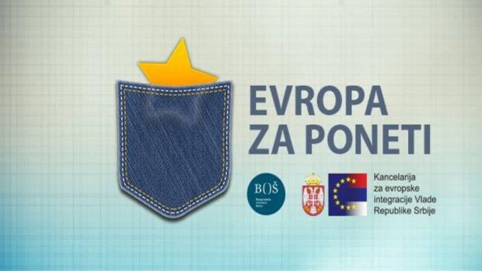 """Predstavljena """"Evropa Za Poneti"""" 1"""