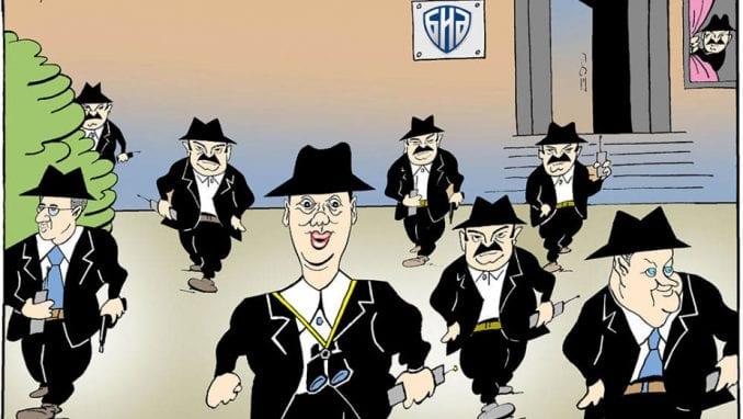 Najbolje Koraksove karikature u Dorćol platzu 1