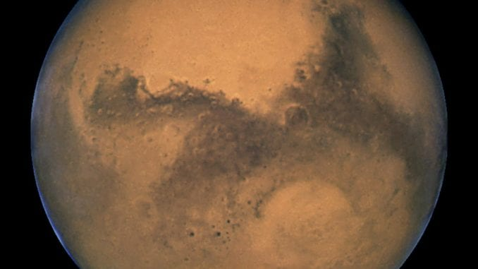 Naučnici otkrili jezero s tekućom vodom na Marsu 1