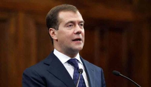 "Medvedev evakuisan sa foruma ""Otvorena inovacija"" 2"