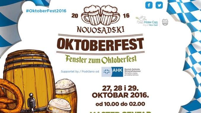 """Počinje """"Novosadski Oktoberfest"""" 1"""
