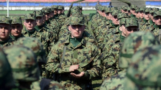 Od decembra novi model dobrovoljnog vojnog roka 1