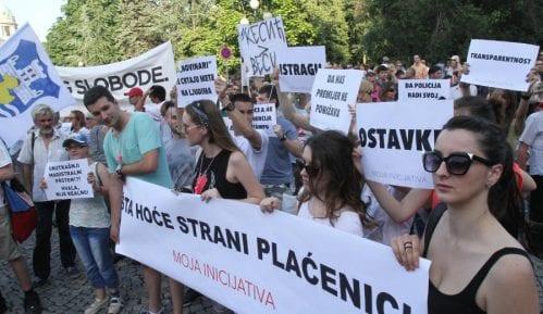 """BIA nema pravo da snima proteste Inicijative"" 14"