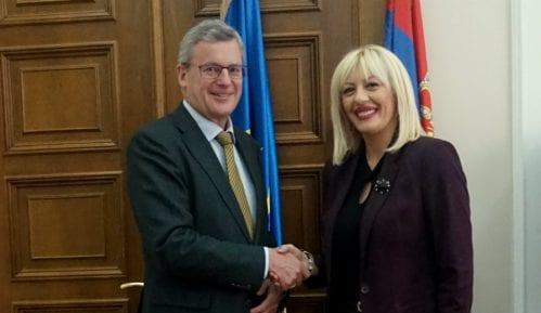 Ministarka Joksimović sa austrijskim ambasadorom o erointegracijama 10