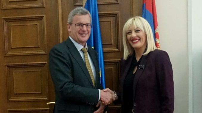 Ministarka Joksimović sa austrijskim ambasadorom o erointegracijama 1