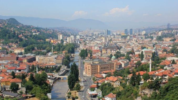 Protest studenata u Sarajevu 1