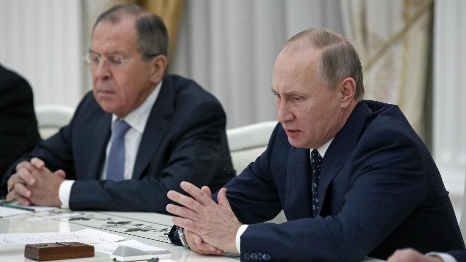 """Putin """"izrešetao"""" predsednika akademije 1"""