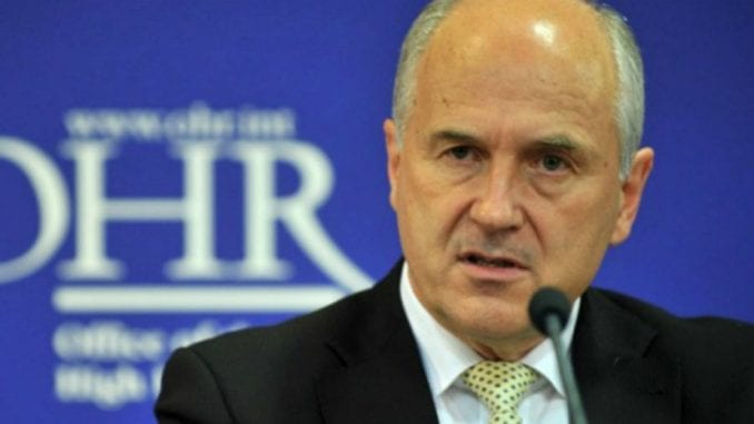 Incko: Državni zvaničnici nisu predstavnici entiteta nego države BiH 2