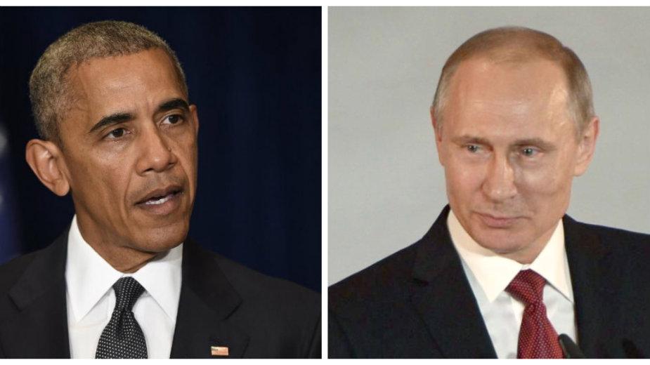 Obama i Putin o Siriji i Ukrajini 1