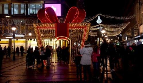 Uključena novogodišnja rasveta u Beogradu 9