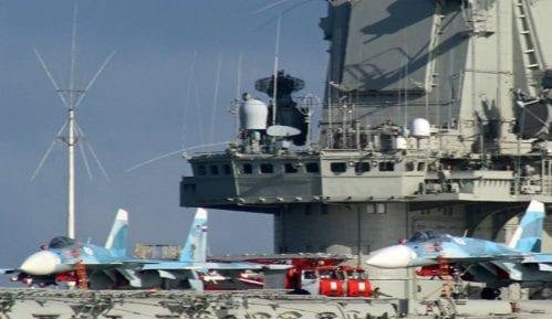 """""""Admiral Kuznjecov"""" prvi put učestvuje u operacijama u Siriji 4"""