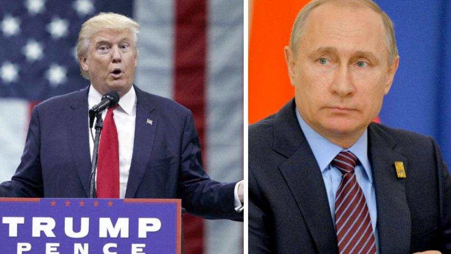 Prvi razgovor Putina i Trampa 1