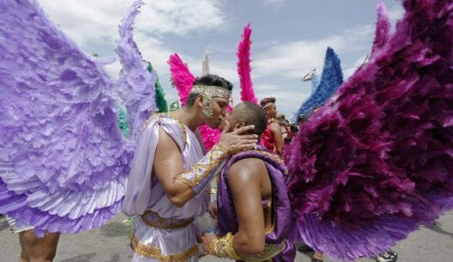 LGBT Prajd na plaži Kopakabana 6