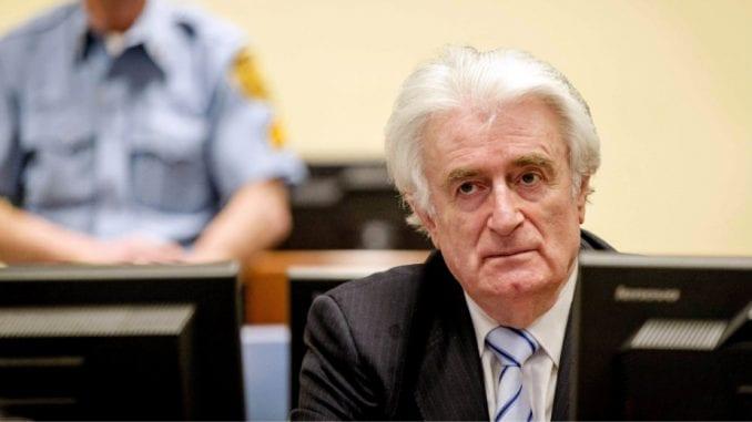 Pravosnažna presuda Radovanu Karadžiću 20. marta 1