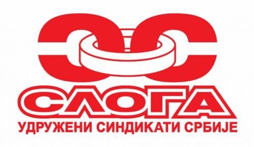 Sloga poziva na lustraciju u sindikatu zbog nezakonitih zarada radnicima koji su bili na mitingu SNS-a 9