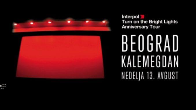 Bend Interpol dolazi u Beograd 1