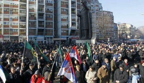 Protestni skup u Kosovskoj Mitrovici 5