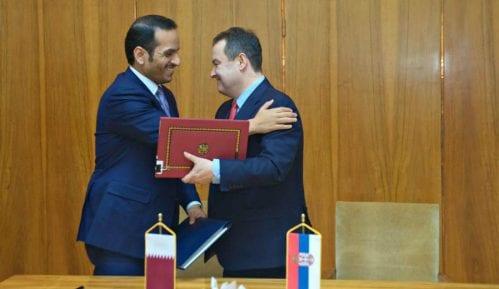 Dačić potpisao sporazum o konsultacijama sa Katarom 14