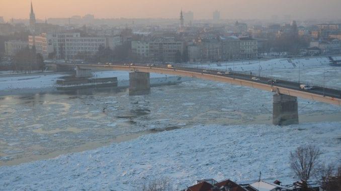 Vode Vojvodine: Gomilanje leda 1
