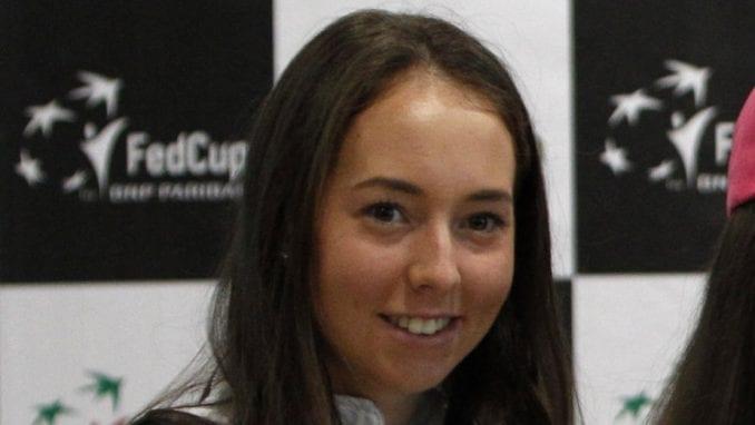 Nina Stojanović druga teniserka Srbije 1