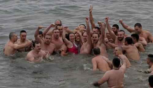 Bogojavljensko plivanje na Zemunskom keju 1