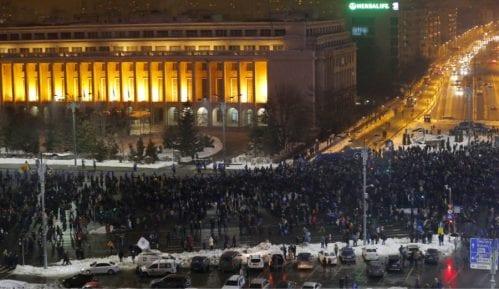Demonstracije u Bukureštu zbog amnestije zatvorenika 3